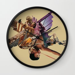 When the Future is the Past Wall Clock