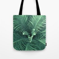 fern Tote Bags featuring Fern by ravynka
