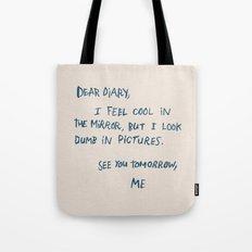Dear Diary Tote Bag
