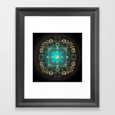 Circle Study No. 441 Framed Art Print