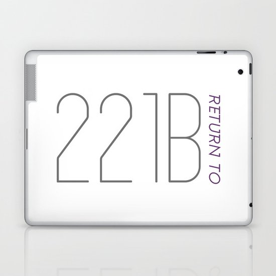 Return to 221B Laptop & iPad Skin