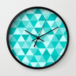Crystallized Wall Clock