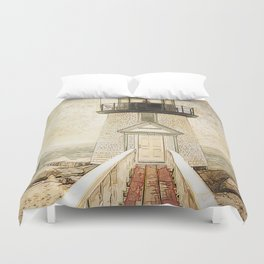 Brant Light Nantucket Duvet Cover
