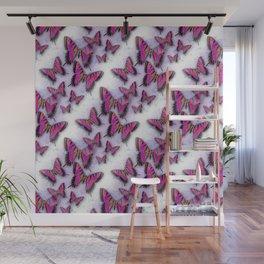 Butterflies African Kente Cloth Inspired Wall Mural