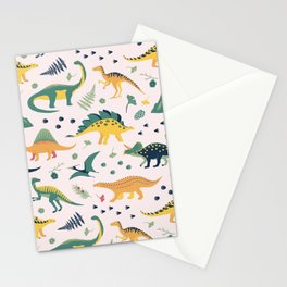 Land of Dinosaurs Stationery Cards