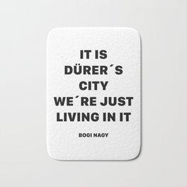 DÜRER´S CITY Bath Mat