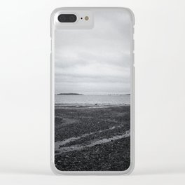 The World On Your Shoulders Clear iPhone Case