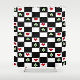 Game Board Shower Curtain