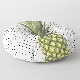 Polka Dot Pineapple Floor Pillow