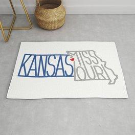 Kansas City Typography Rug