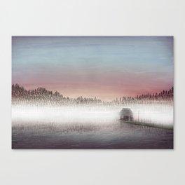 A mist. Canvas Print