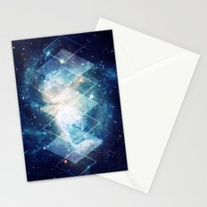 Shining Nebula - Blue Stationery Cards