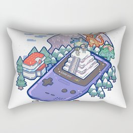 Pocket Monsters 2 - Mount Silver Rectangular Pillow