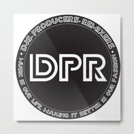 DPR LOGO PNG Metal Print