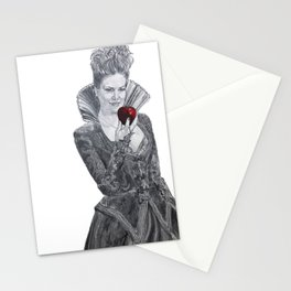 Apple red as blood Stationery Cards