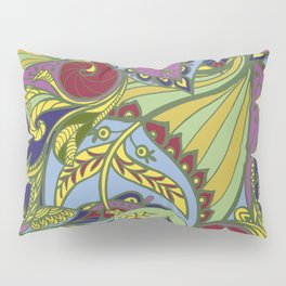 Drawn pattern in Indian style Pillow Sham