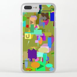02282017 Clear iPhone Case