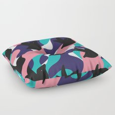 Birds Pattern Floor Pillow