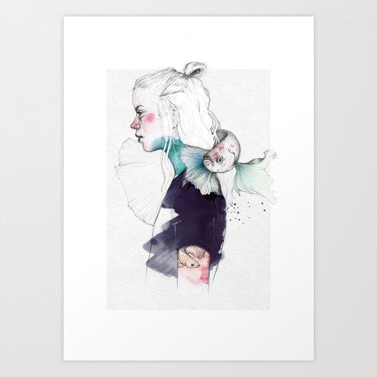 BETTA Art Print