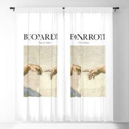 Buonarroti - Creation of Adam Blackout Curtain