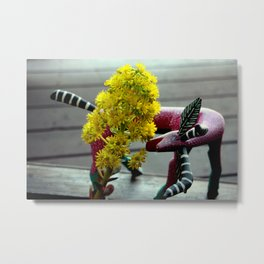 Side Swiped Metal Print