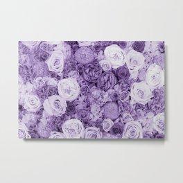 bouquet ver.purple Metal Print