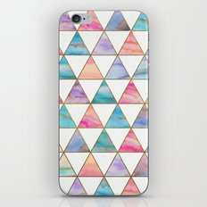 Marble Triangles Pattern iPhone & iPod Skin