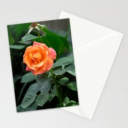 glow - vertical Stationery Cards