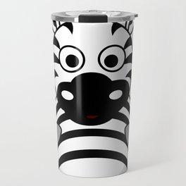 Zebra Zach Travel Mug