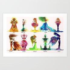 VIA LACTEA Art Print