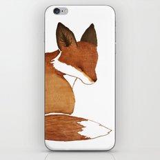 Resting Fox iPhone & iPod Skin
