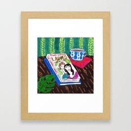 Summer Still Life Framed Art Print