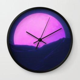 New Sun III Wall Clock