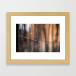 En su madeja Framed Art Print