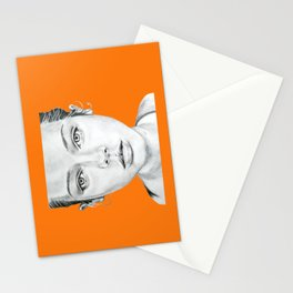 Lady Portrait Stationery Cards