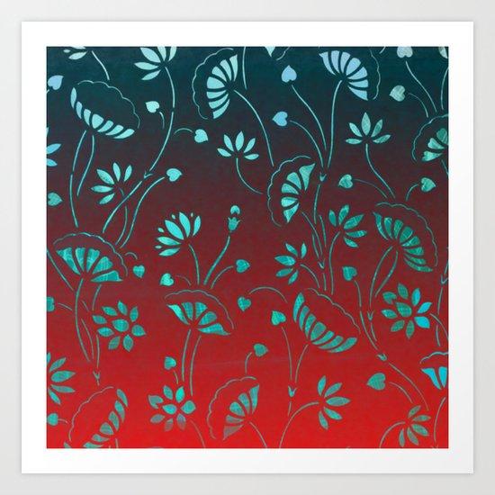 Lilypond-1 Art Print