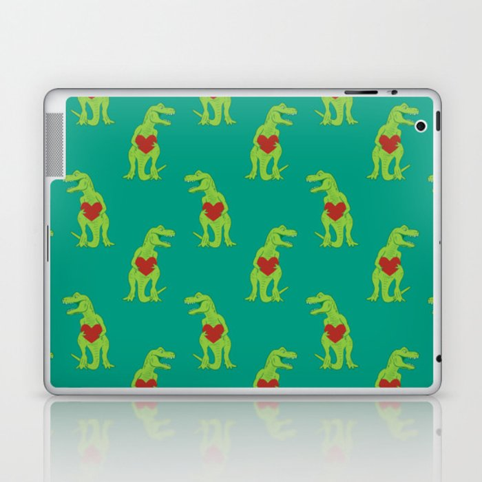 T-rex Love Laptop & iPad Skin