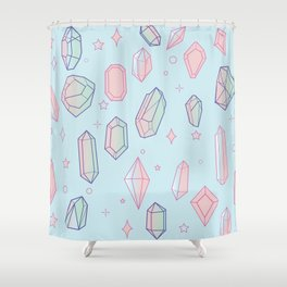 Crystal Universe Shower Curtain