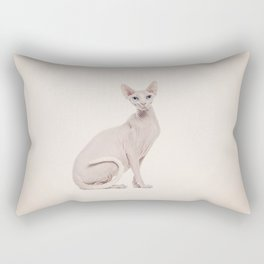 Pinky cat! Rectangular Pillow