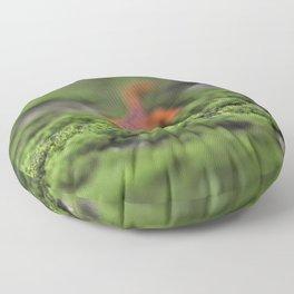 Coming For You - Orange Salamander Floor Pillow