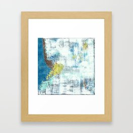 Frequency Framed Art Print