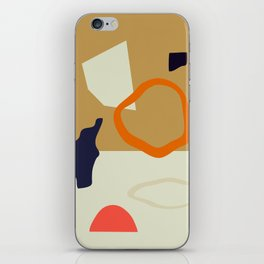 Abstract Shapes 9 iPhone Skin