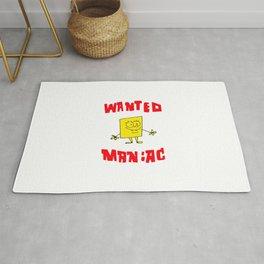 Wanted Maniac Rug