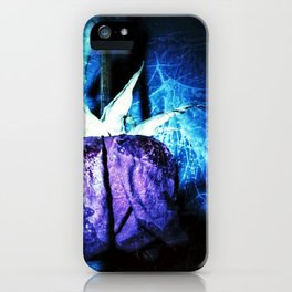 Love Song - Midnight Velvet (Blue) 0351A iPhone Case