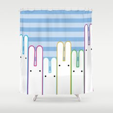 Bunny Buddies Shower Curtain