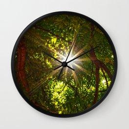 flash scape Wall Clock