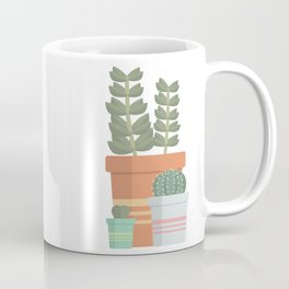 A collection of succulents Coffee Mug