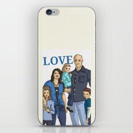 Chad's beautiful family iPhone Skin