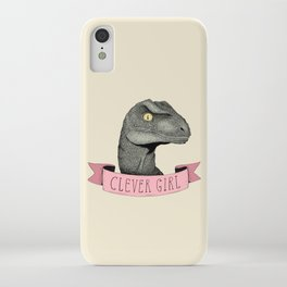 Clever Girl - Jurassic park iPhone Case