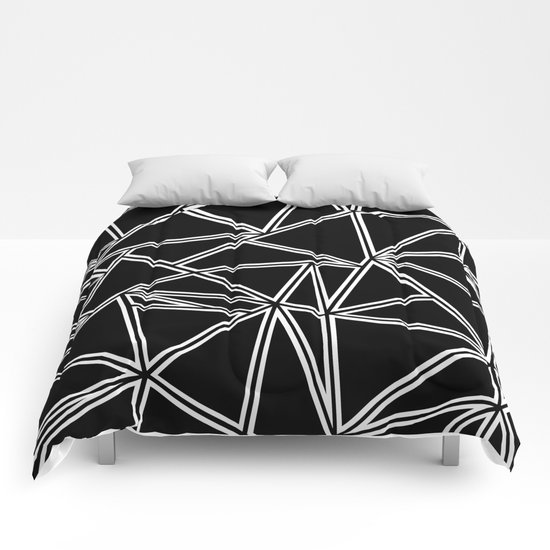 Shattered Ab Zoom Comforters